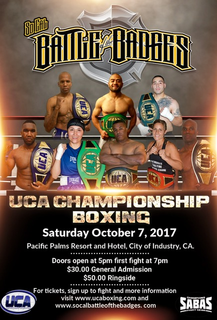 SoCal Battle of the Badges
