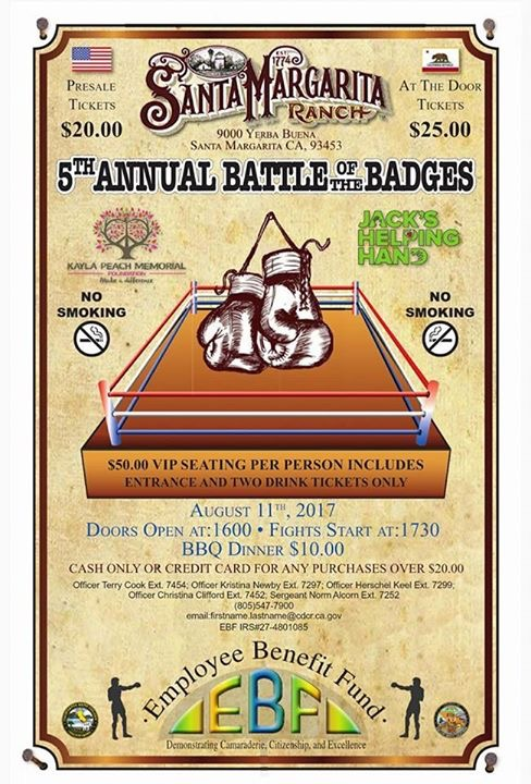 Central Coast Battle of the Badges